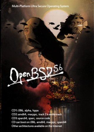 Affiche OpenBSD 5.6