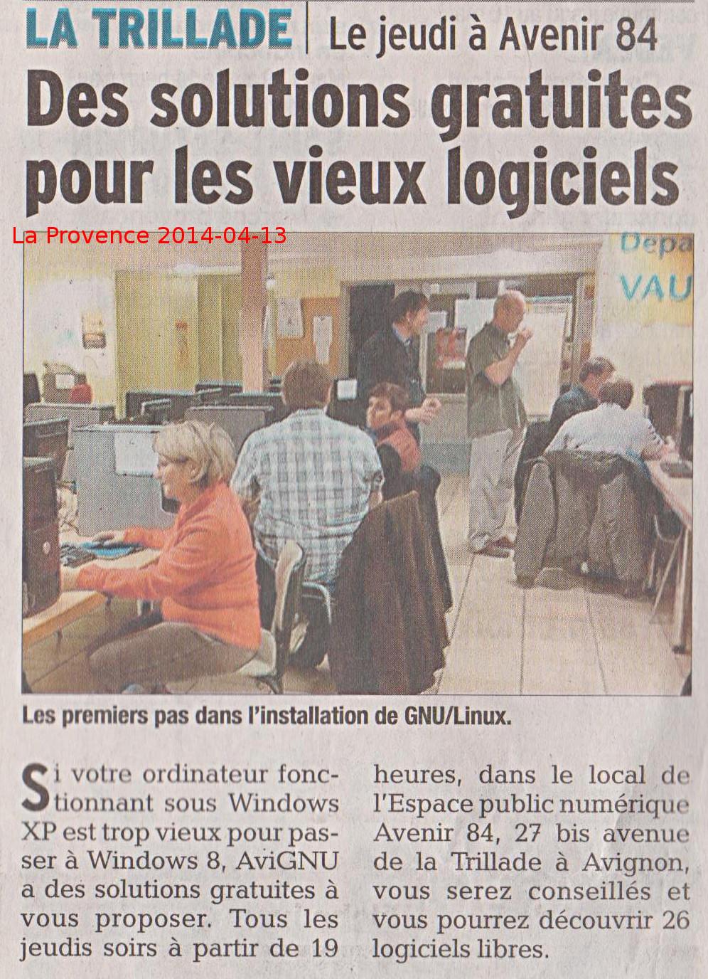 Avignu page 4 - Le journal de la provence ...